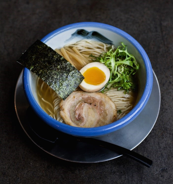 Yuzu Shio ramen from Afuri. Photo courtesy Afuri Ramen + Dumpling