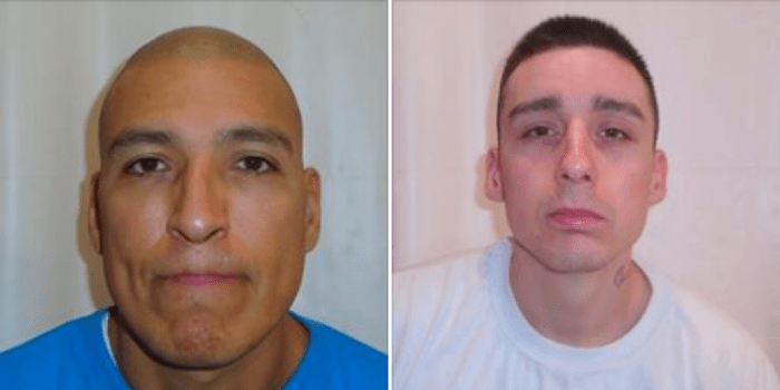 Two inmates who had escaped from William Head Institution in Metchosin have been captured.