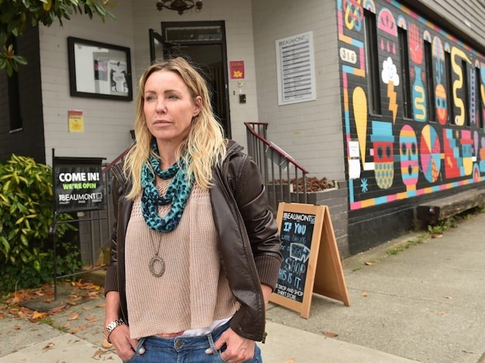 Beaumont Studios' executive director Jude Kusnierz says that without some help from the province or the city, her studio will close by January 2020. Photo by Dan Toulgoet/Vancouver Courier