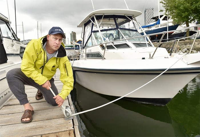 Bon Chovy fishing charters owner Jason Assonitis has reported losses in the range of 50 per cent due to the closure of the recreational fishery. Photograph By Dan Toulgoet
