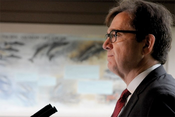 Federal fisheries minister Jonathan Wilkinson defended his move to close the recreational fishery in an interview with the Courier. - Mike Wakefield/ North Shore News