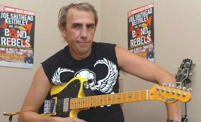 Burnaby Coun. Joe Keithley wants people to vote and will be rocking out to do it. Photograph By File photo/ Burnaby NOW