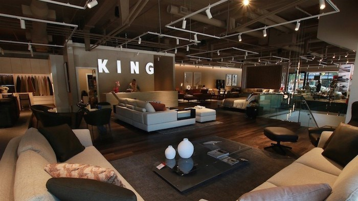 King Living's new 10,000-square-foot store in the South Granville neighbourhood sold nearly $500,000 worth of products in the first two weeks, the company's CEO said. Photo by Rob Kruyt/Business In Vancouver