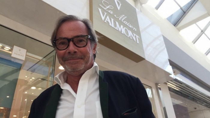 La Maison Valmont CEO Didier Guillon has sold products through third-party retailers for decades and only recently started opening corporate stores, such as his first North American location at Oakridge Centre. Photo by Glen Korstrom/Business In Vancouver