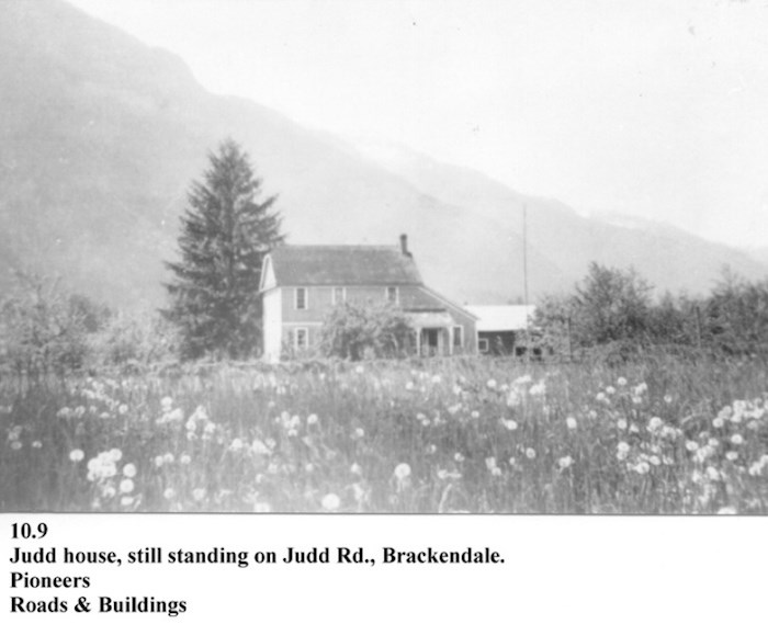 The Judd Farm after 1916. Photo courtesy Squamish Digital History Collection/Squamish Public Library