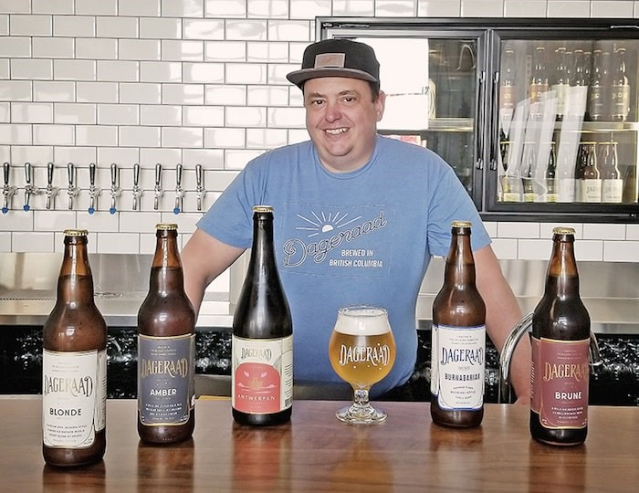 Dageraad Brewing owner Ben Coli bottle conditions nearly all of his brewery's award-winning beers. Photo courtesy Dageraad Brewing
