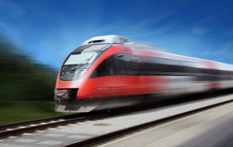 The ultra-high-speed system would travel at speeds of more than 320 kilometres per hour. Photo: iStock