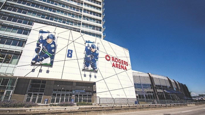 Rogers Arena in Vancouver. Photo by Chung Chow/Business In Vancouver