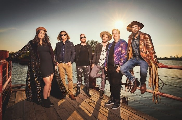 The Strumbellas are one of the Canadian bands headlining this year's Richmond World Festival. Photo submitted