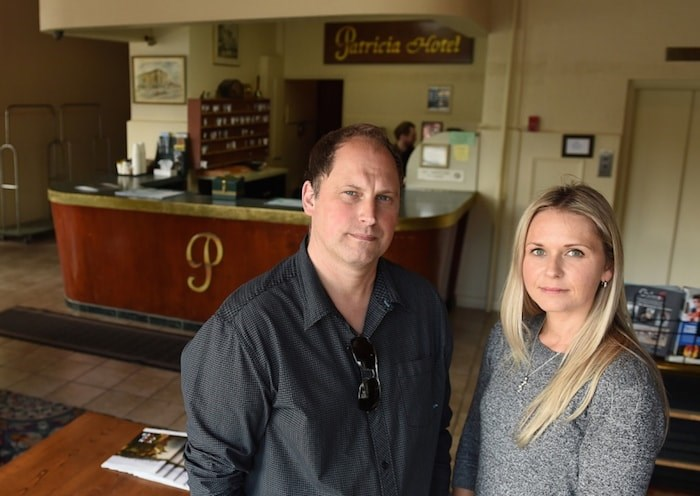 Daryl Nelson and his sister, Lindsay Thomas, operate the family-run Patricia Hotel in the 400-block of East Hastings. Photo by Dan Toulgoet/Vancouver Courier