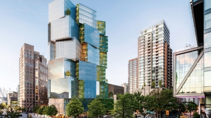 Westbank's development at 400 West Georgia is slated to open in 2020. Photo via Westbank