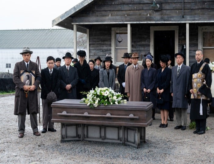 AMC's The Terror: Infamy takes place in a Japanese American internment camp during the Second World War with a supernatural twist. Photo AMC
