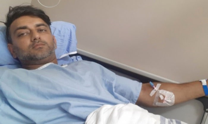 Amit Prasad was attacked in a parking lot at the YVR airport shortly leaving working. Photo from GoFundMe page