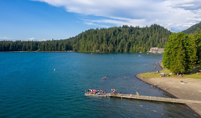 25 new cabins are now available at Cultus Lake Provincial Park. Photo: Istock