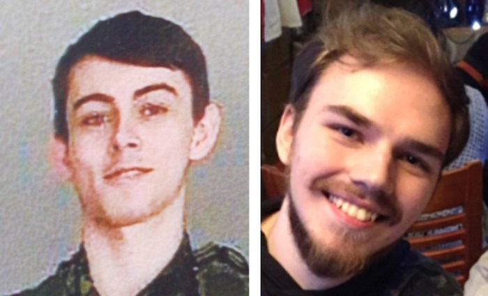 Bryer Schmegelsky, left, and Kam McLeod. Photo via RCMP
