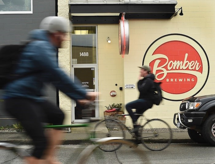 Here's what the Bomber Brewing headquarters looked like prior to being sold to the Donnelly Group in 2018. Photo by Dan Toulgoet/Vancouver Courier