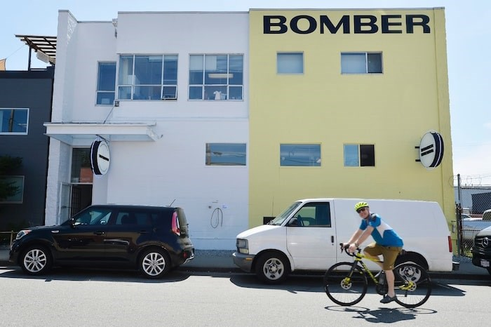 Here's what the Bomber Brewing building on Adanac looks like now, after the company was purchased by the Donnelly Group in 2018. Photo by Jennifer Gauthier