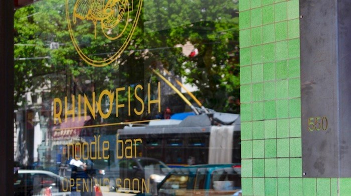 Rhinofish Noodle Bar at 550 Main Street in Vancouver. Photo by Lindsay William-Ross/Vancouver Is Awesome