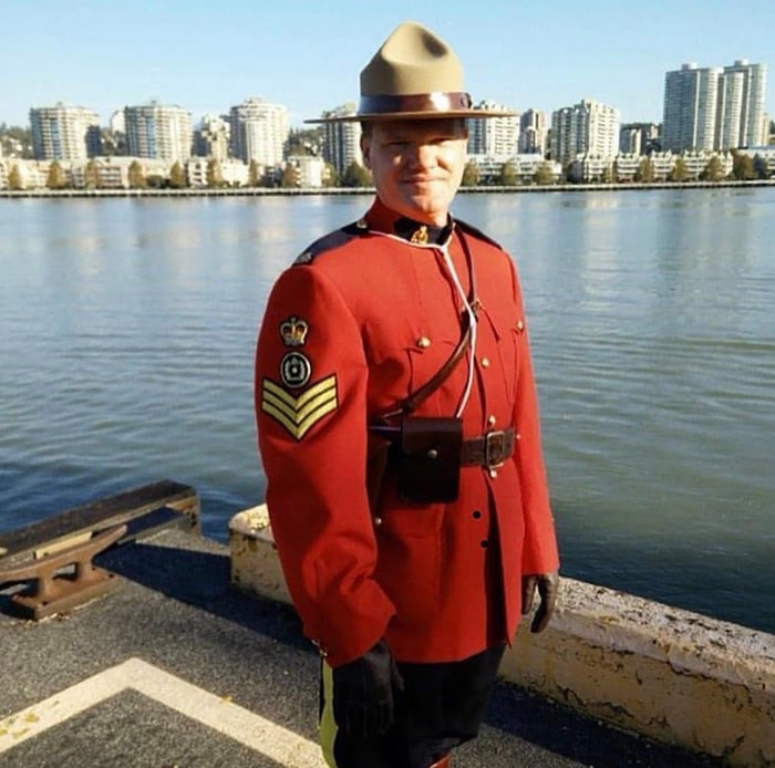 BC RCMP Senior Sergeant Brent Elwood was the man who stopped to help Krisi Ferris on the Downtown Eastside in 2006. Photo courtesy of Brent Elwood