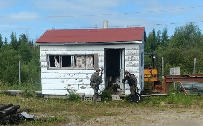 RCMP officers have started to canvass every home and building in the Gillam area as well as Fox Lake Cree Nation.
