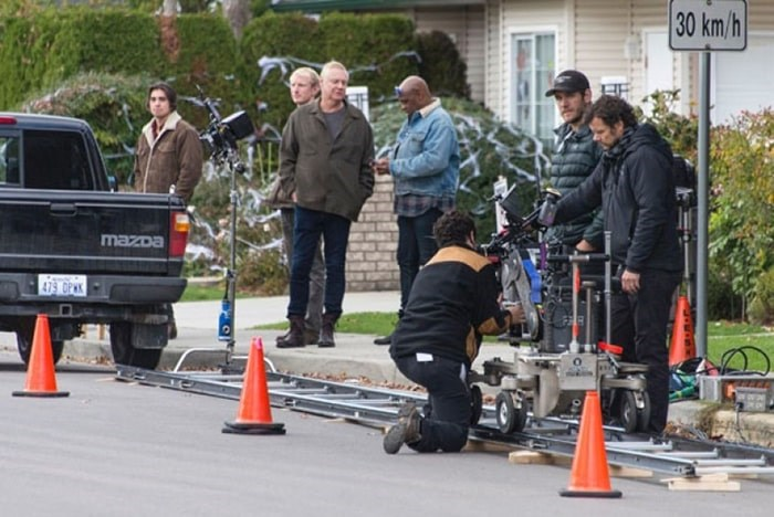 Filming work is on tap for Ladner Village next week.