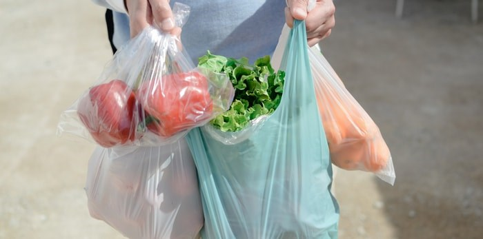 Plastic grocery bags/Shutterstock