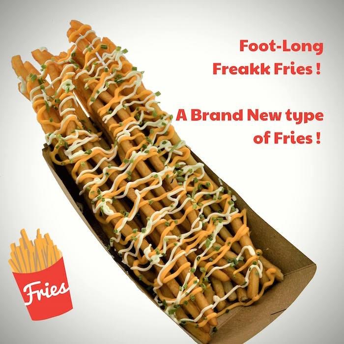 Freakk Fries! Photo courtesy PNE