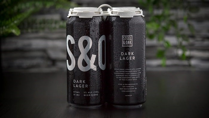 Dark Lager by Steel & Oak Brewing