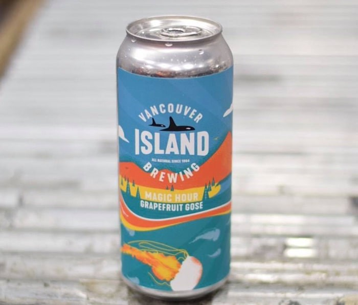 Magic Hour Grapefruit Gose by Vancouver Island Brewing