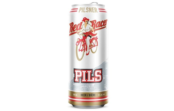 Red Racer Pilsner by Central City Brewing