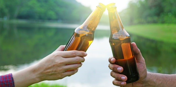 Cheers to the long weekend! Photo: Shutterstock