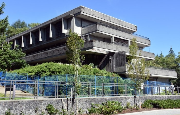 Madge Hogarth House was built in 1965 to house female students at Simon Fraser University. Photo by Kelvin Gawley/Burnaby NOW