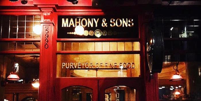 The exterior of Mahony & Sons at UBC. Photo by @_masterofone_ via
