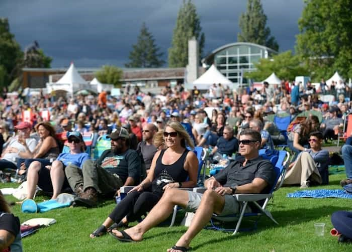 Burnaby Burnaby Blues + Roots Festival (seen here in 2018) returns for another day of live music at Deer Lake on Saturday, Aug. 10. Photo: Burnaby Blues + Roots