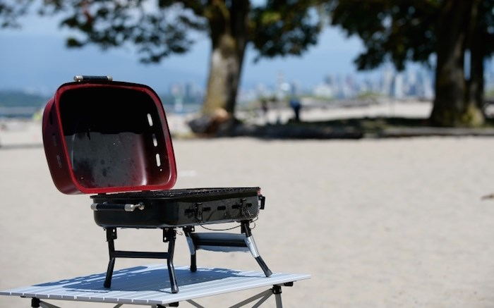 Vancouver Park Board is banning barbecues between Stanley Park and the Inukshuk at English Bay Beach during Celebration of Light Aug. 3. File photo Jennifer Gauthier/Vancouver Courier