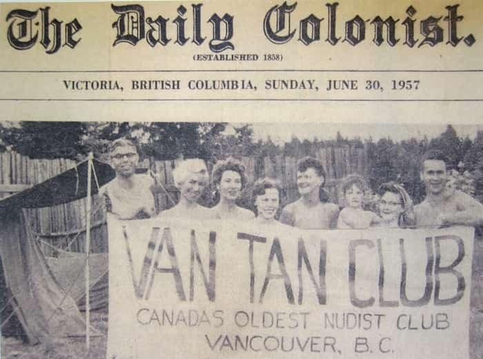 Photo: Courtesy Van Tan Nudist Club