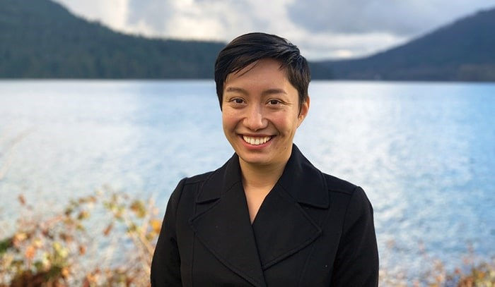 Amita Kuttner, running for the Green Party in Burnaby North-Seymour, came out as non-binary and pansexual for Pride.