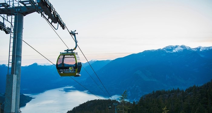 Photo courtesy Sea to Sky Gondola/Tara O'Grady