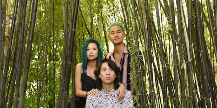 Filmmakers Jen Sungshine and David Ng and Kendell Yan, aka Maiden China, bring their film Yellow Peril to this week's Vancouver Queer Film Festival. Photo: Dan Toulgoet