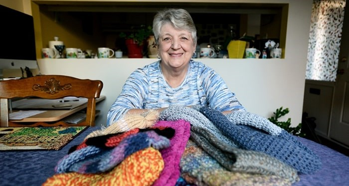Staying warm: Dee Cavanagh is once agaiin spearheading a Chase the Chill initiative in New West. Photo: New West Record