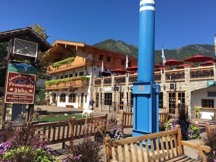 Every building in Leavenworth is done up in Bavarian chalet style. Photo Grant Lawrence