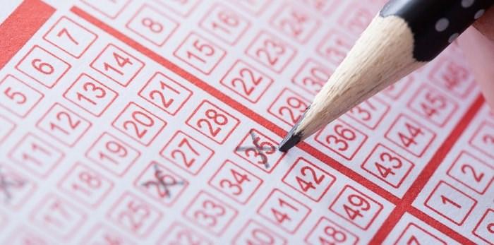 Lottery ticket/Shutterstock