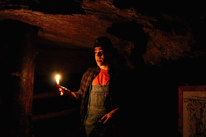 In 1863, they only had candles to light their way in the Capelton Mine. Photo by Lindsay William-Ross/Vancouver Is Awesome