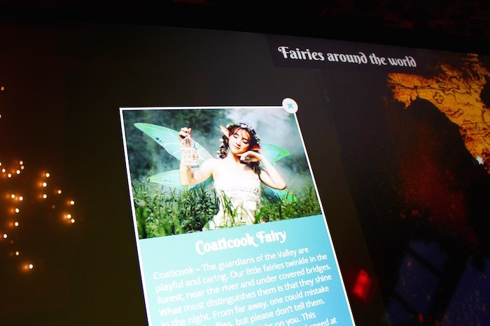 Slip into the enchanted world of fairies before heading into Foresta Lumina. Photo by Lindsay William-Ross/Vancouver Is Awesome