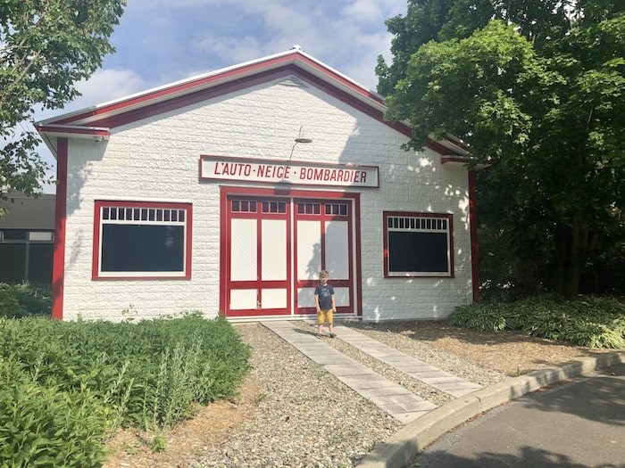 Bombardier's original garage in Valcourt is part of this wonderful hidden gem museum about his life and inventions. Photo by Lindsay William-Ross/Vancouver Is Awesome