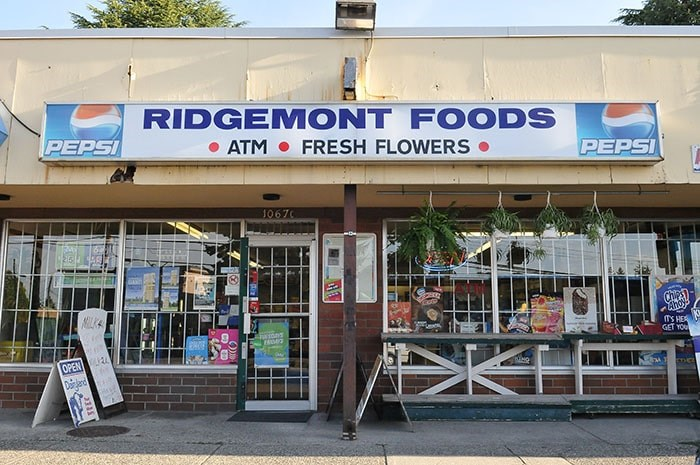 The old Mac's convenience store where Niven was murdered was shut years ago, to be replaced by a Ridgemont Foods. - STEFAN LABBÉ/THE TRI-CITY NEWS