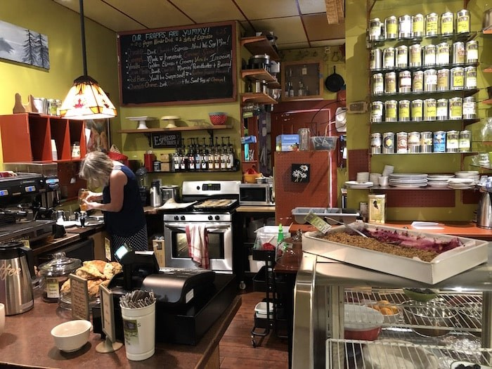 The busy kitchen at Java Bay Cafe. Photo by Lindsay William-Ross/Vancouver Is Awesome