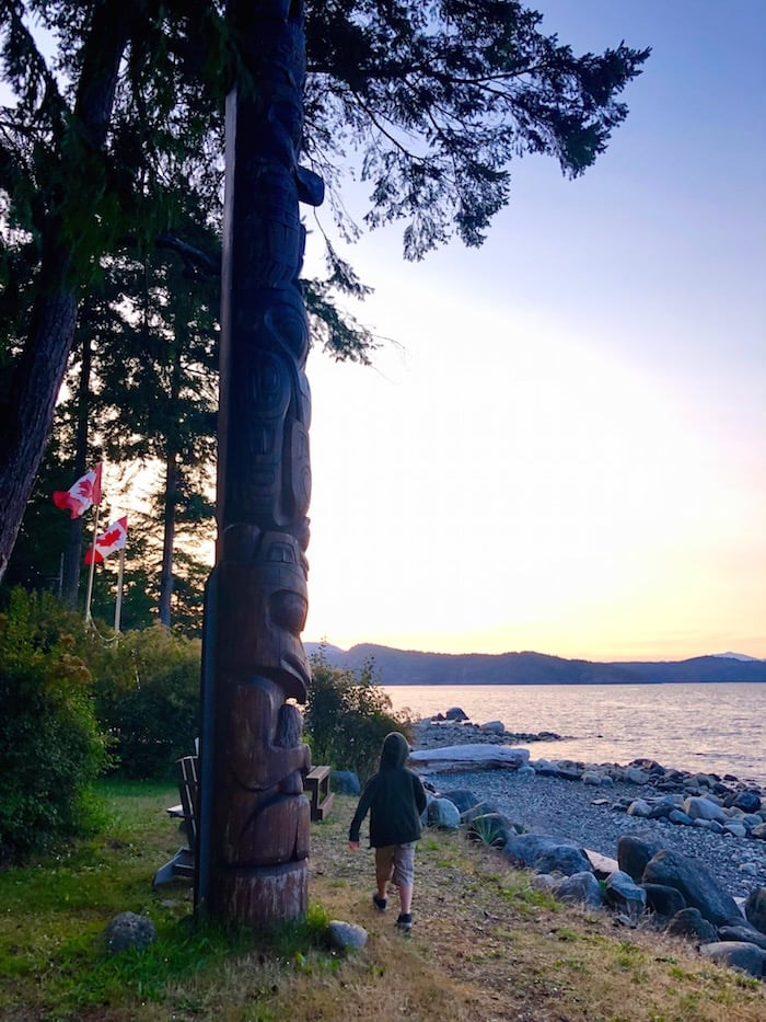 Still exploring at sunset at Taku. Photo by Lindsay William-Ross/Vancouver Is Awesome