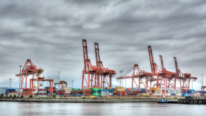 Port of Vancouver container terminal. Photo by Chuck Chiang/Business In Vancouver