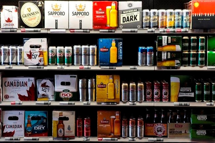 A Toronto beer store is pictured on Thursday, April 16, 2015. THE CANADIAN PRESS/Chris Young